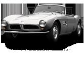BMW 507 sedan 1959