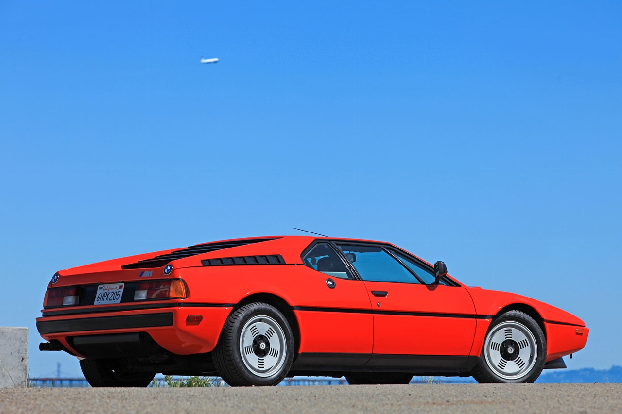 BMW M1 Coupe 1981