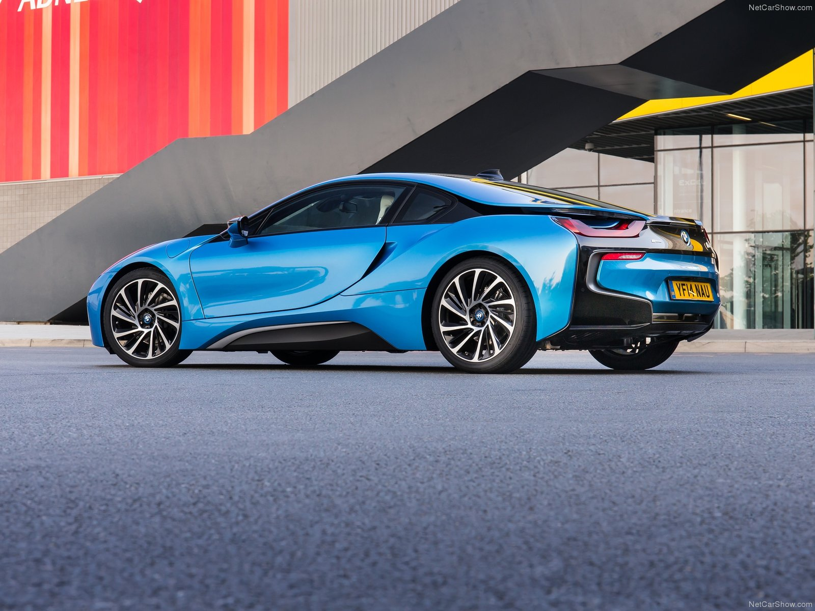 BMW i8 series Coupe 2014