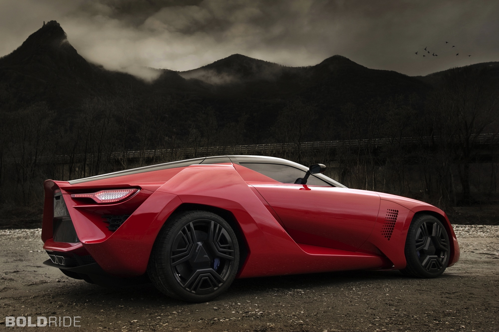 Bertone Mantide Coupe 2009