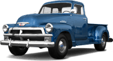 Chevrolet 3100 2 Door pickup truck 1954