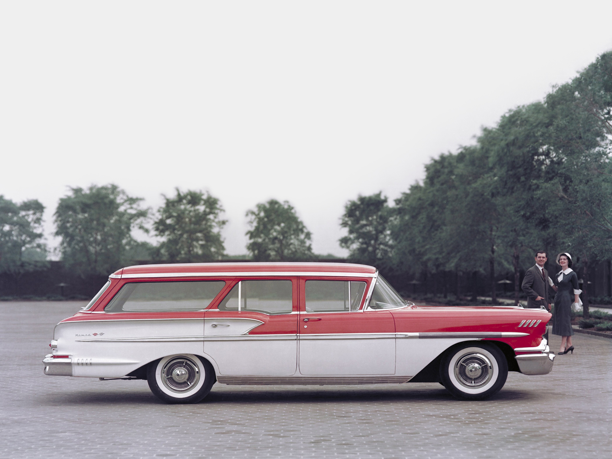 Chevrolet Brookwood Wagon 1958