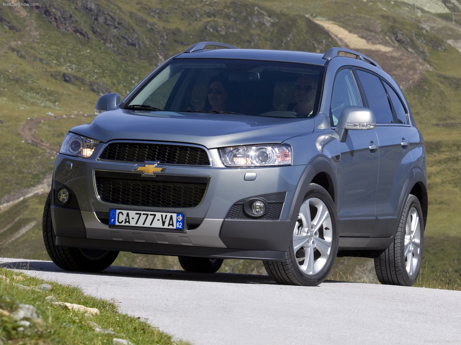 Chevrolet Captiva Crossover 2012
