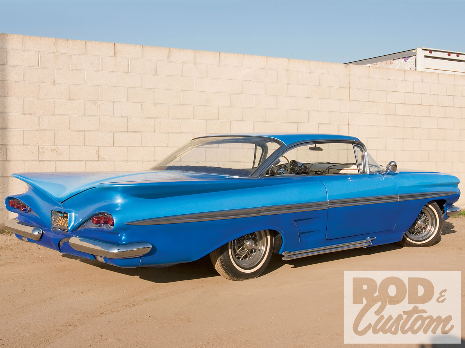 1959 Chevy Impala blue - YoWindow Forum