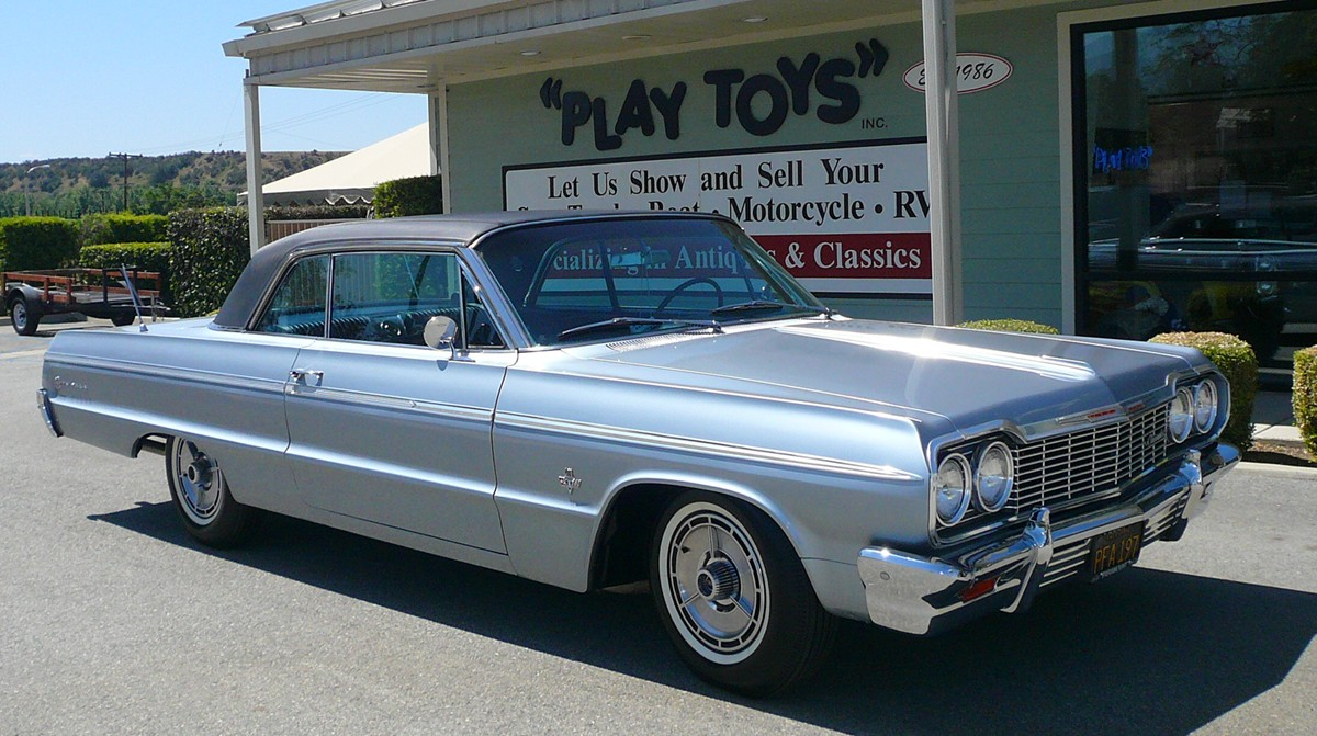 Pictures of 1964 chevy impala ss