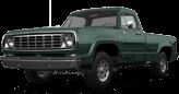 Dodge Power Wagon W200 2 Door pickup truck 1972