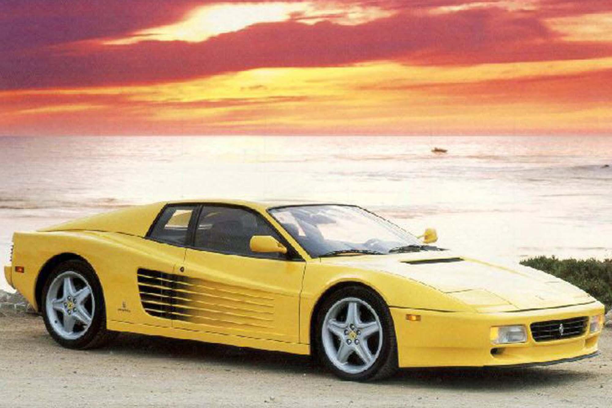 ... Ferrari 512 TR Coupe 1991 ...