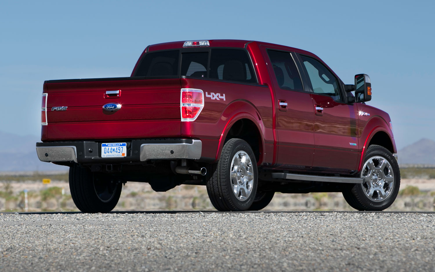 Ford f 150 supercrew truck 2013