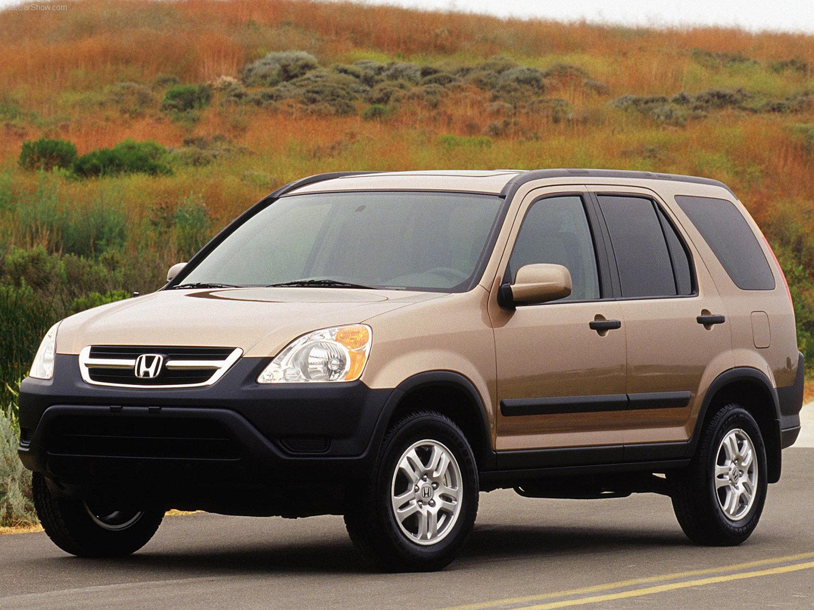 ... Honda CR-V Crossover 2002 ...