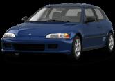 Honda Civic 3 Door Hatchback 1992
