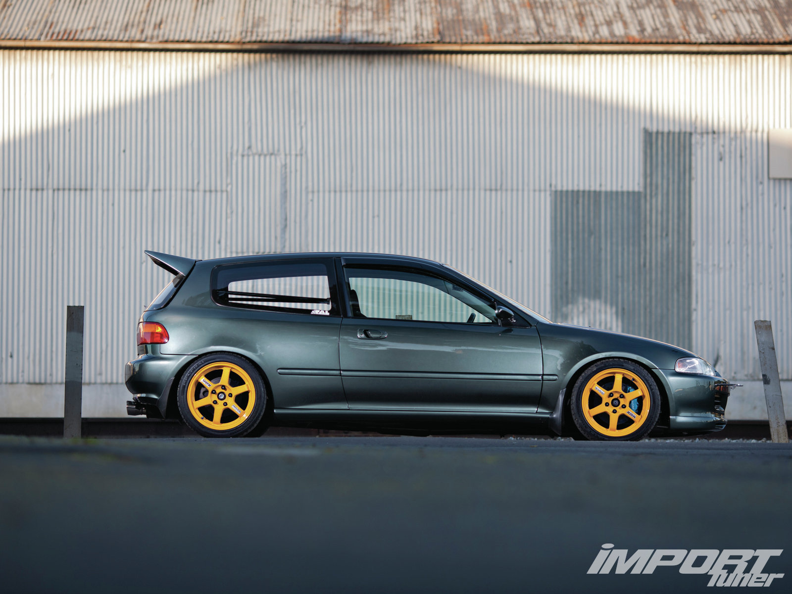 3dtuning Of Honda Civic 3 Door Hatchback 1992 3dtuning Com