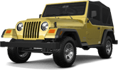 Jeep Wrangler TJ 2 Door SUV 1997