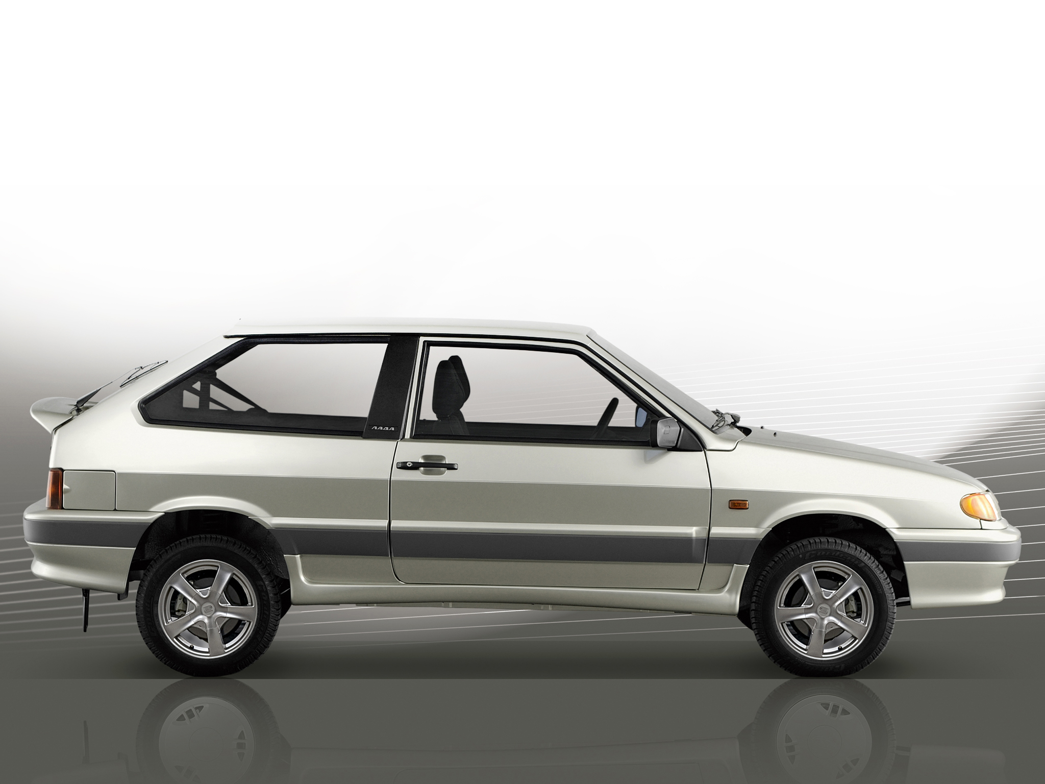 Lada Samara 2113 3 Door Hatchback 2006