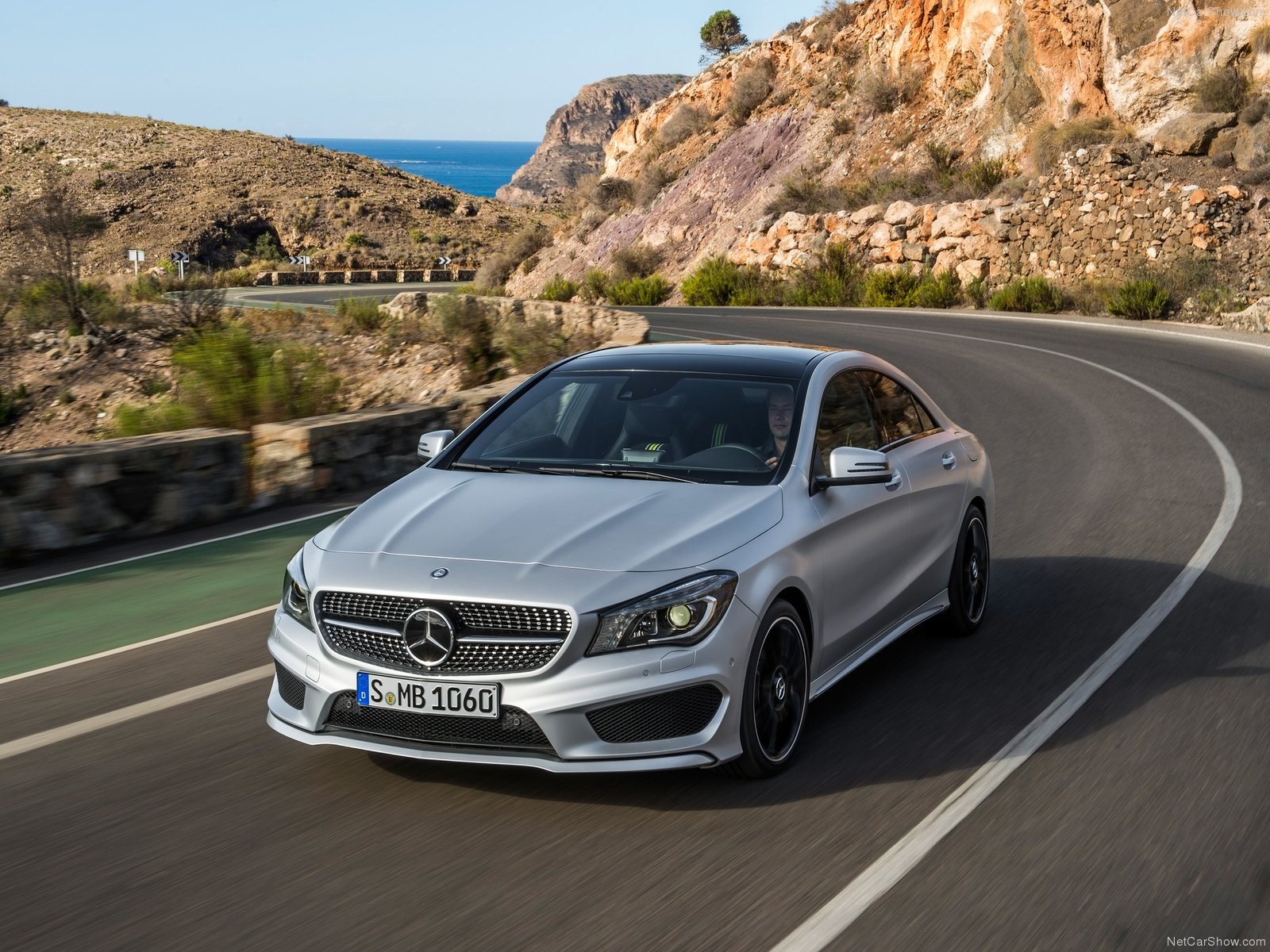 Mercedes CLA class 4 Door Coupe 2014