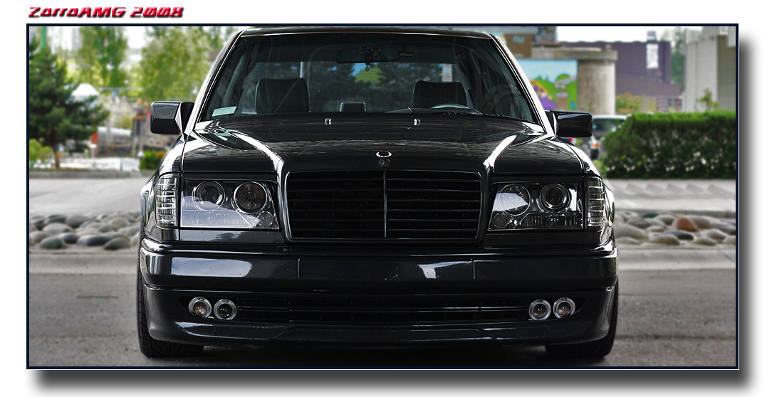 3dtuning of mercedes e class sedan 1984 for Mercedes benz tuning parts