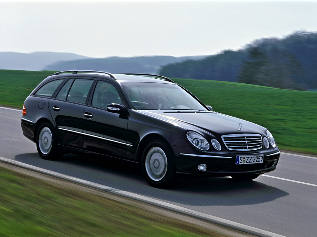 3dtuning of mercedes e class wagon 2003 for Mercedes benz e500 station wagon
