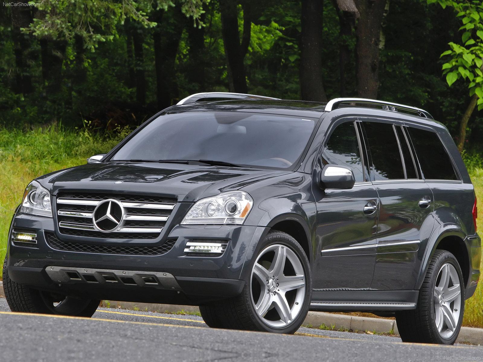 Mercedes gl class suv 2010
