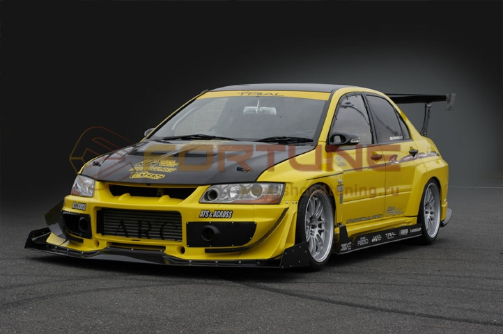 My perfect Mitsubishi Lancer Evo IX  3DTuning - probably the