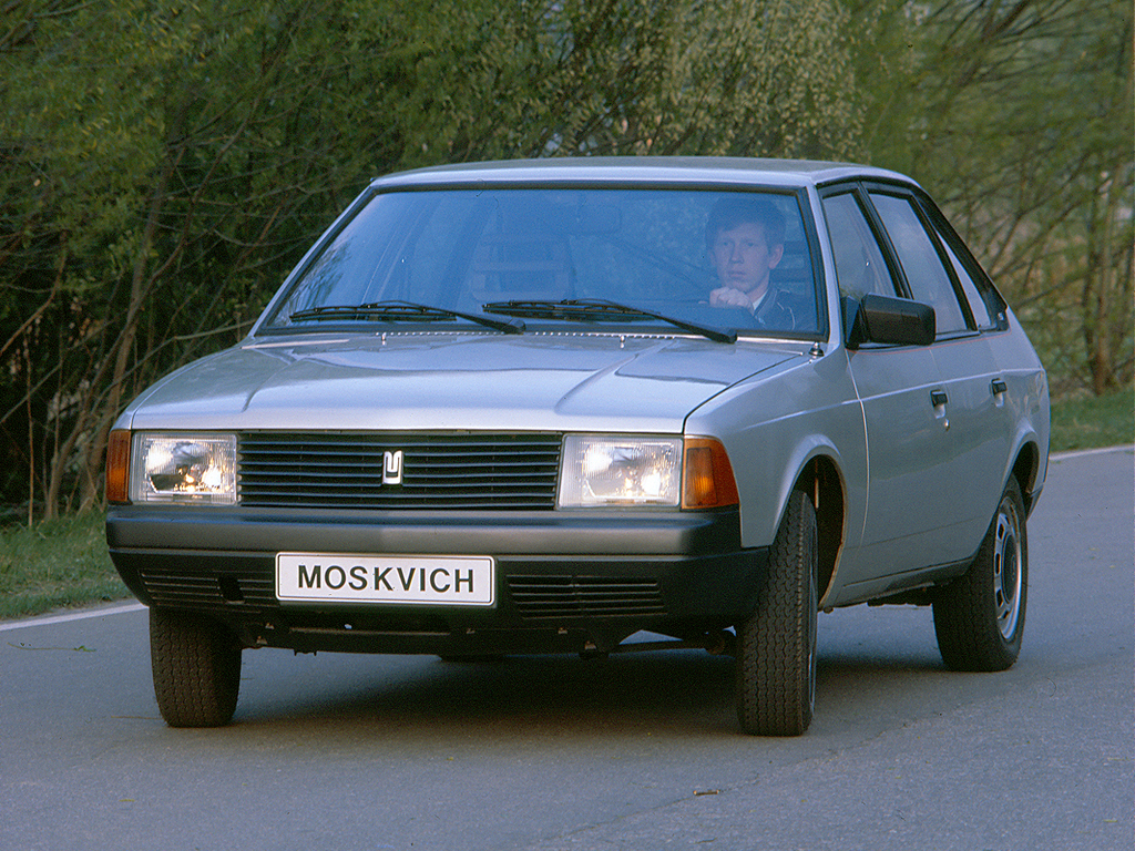 ... Moskvich 2141 5 Door Hatchback 1986