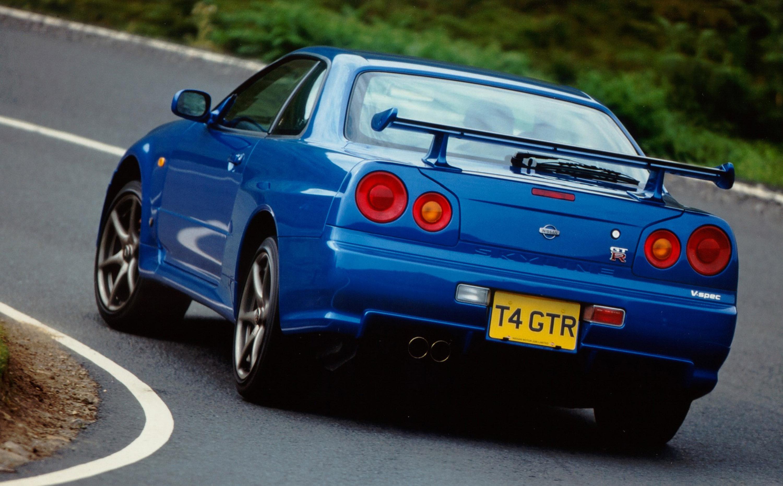nissan skyline gt r coupe 2002