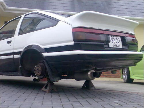 Toyota AE86 Coupe 1985