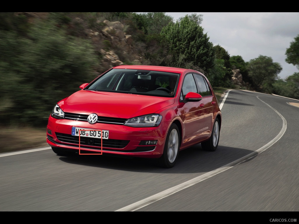 Volkswagen Golf 7 5 Door Hatchback 2013